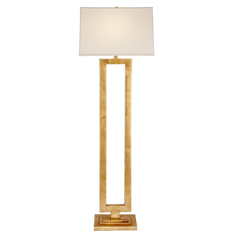 Modern Open Floor Lamp by Suzanne Kasler