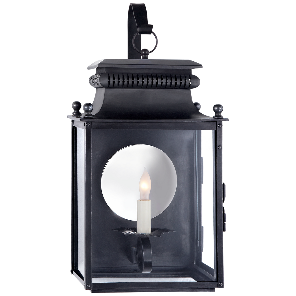 Honore Small Bracketed Wall Lantern by Suzanne Kasler