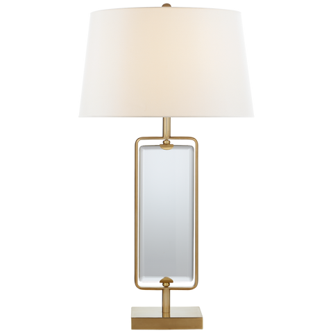 Henri Large Framed Table Lamp by Suzanne Kasler