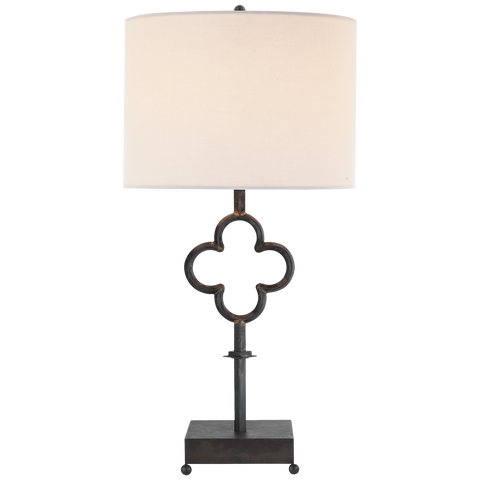 Quatrefoil Table Lamp by Suzanne Kasler