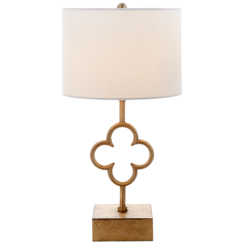 Quatrefoil Accent Lamp by Suzanne Kasler
