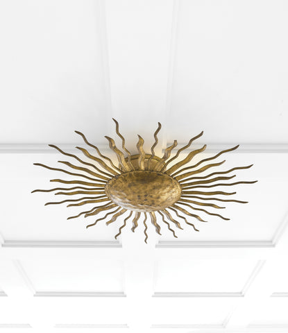 Ré Flush Mount by Suzanne Kasler