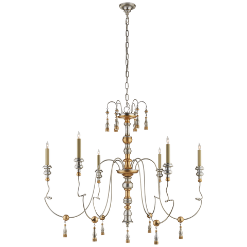 Michele Medium Chandelier by Suzanne Kasler