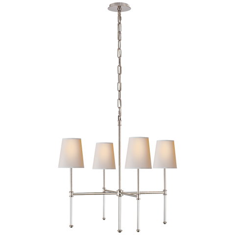 Camille Small Chandelier by Suzanne Kasler