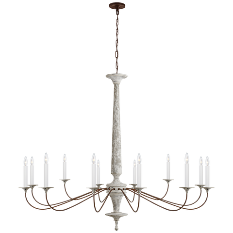 Bordeaux Grande Chandelier by Suzanne Kasler
