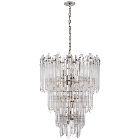 Adele Three-Tier Waterfall Chandelier by Suzanne Kasler
