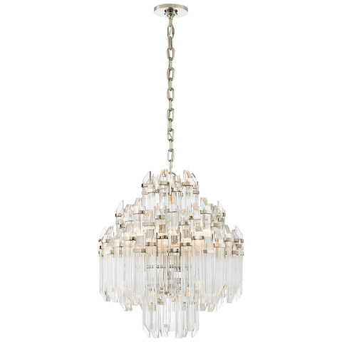 Adele Four Tier Waterfall Chandelier by Suzanne Kasler