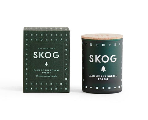 SKOG Mini Scented Candle design by Skandinavisk