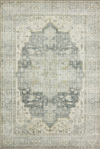 Skye Rug in Charcoal / Dove by Loloi II