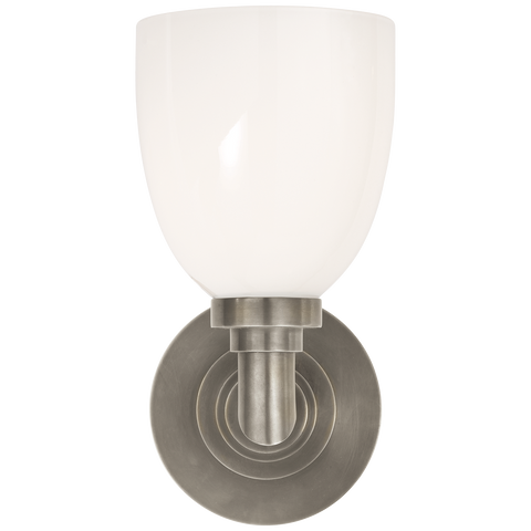 Wilton Single Bath Light by Chapman & Myers