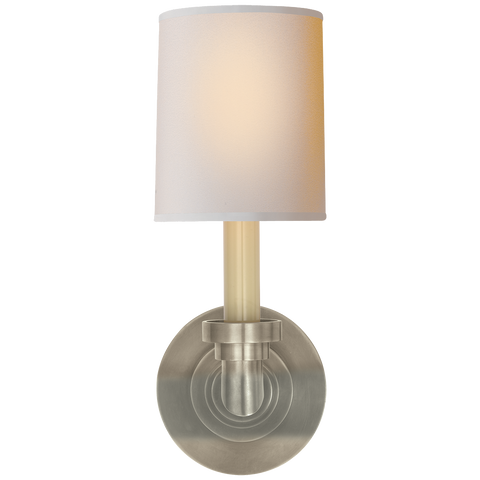 Wilton Single Sconce by Chapman & Myers