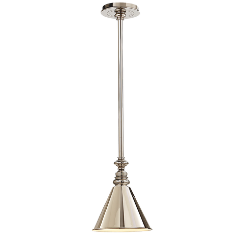 Boston Pendant with Mini Slant Shade by Chapman & Myers
