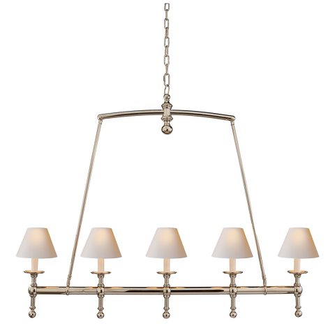 Classic Linear Chandelier by Chapman & Myers
