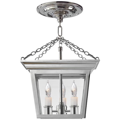 Cornice Semi-Flush Lantern by Chapman & Myers