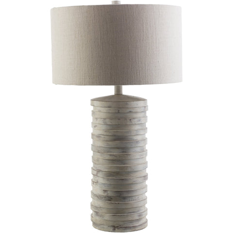 Sulak SLK-405 Table Lamp in Light Gray by Surya