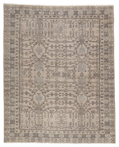 Cosimo Hand-Knotted Oriental Grey Rug by Jaipur Living