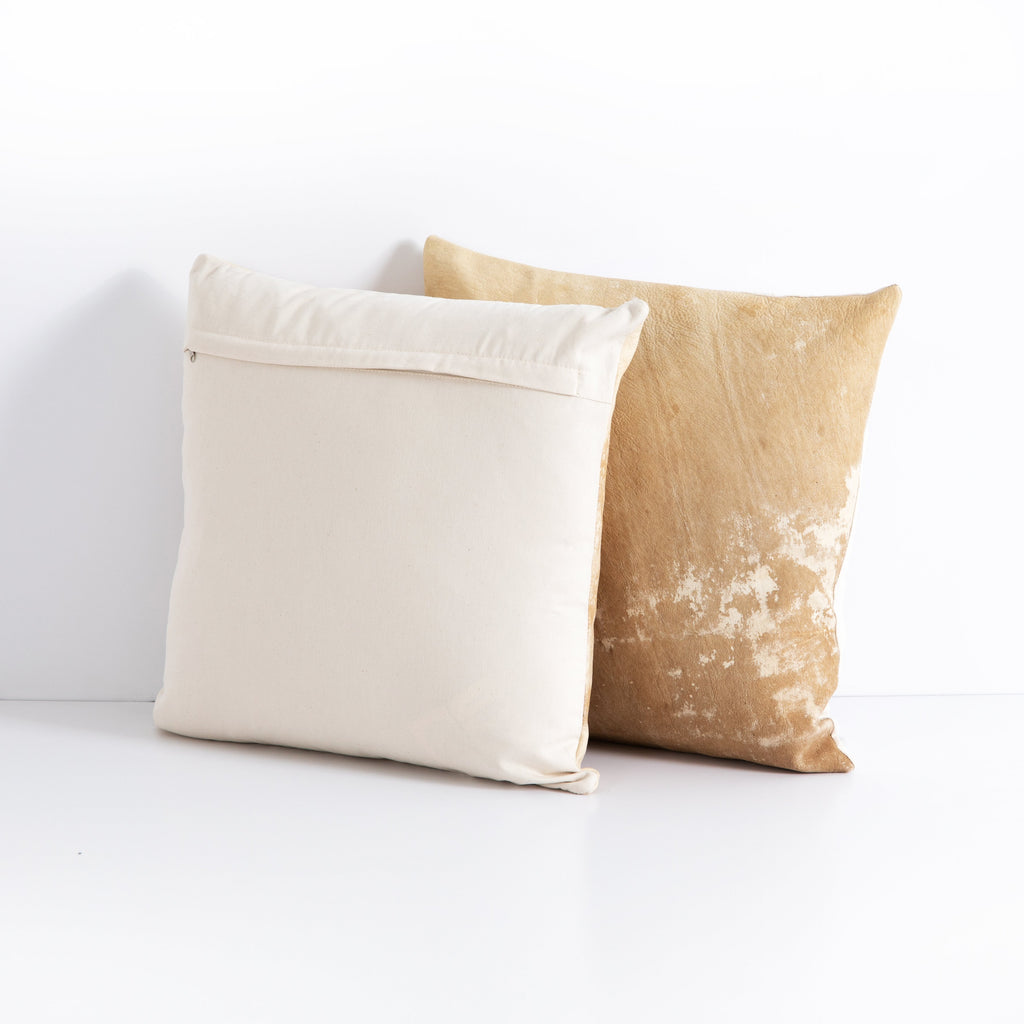 Harland Modern Hide Pillow Set Of 2