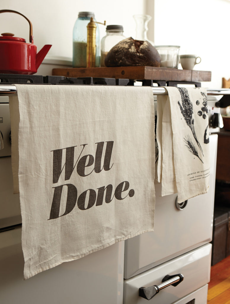 Slow Down Tea Towel design by Sir/Madam