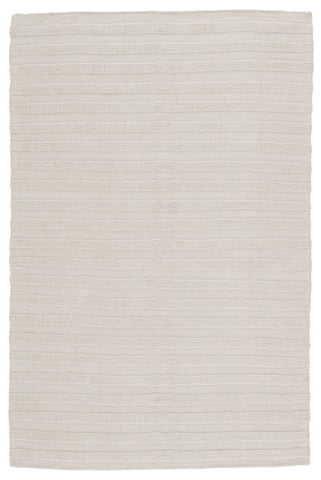 Miradero Indoor/Outdoor Striped Ivory Rug by Jaipur Living