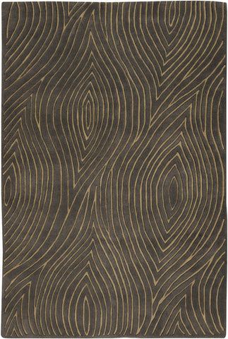 Solas Collection Hand-Tufted Area Rug in Taupe & Gold design by Chandra rugs