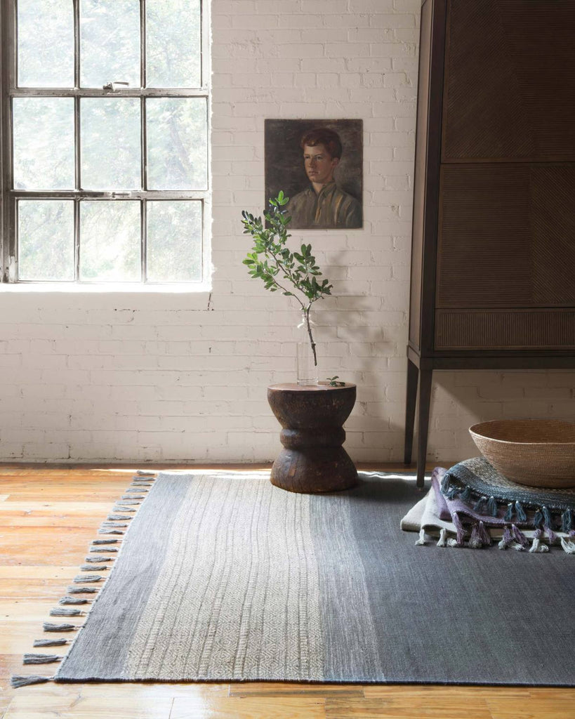 Solano Rug in Blue by ED Ellen DeGeneres Crafted by Loloi