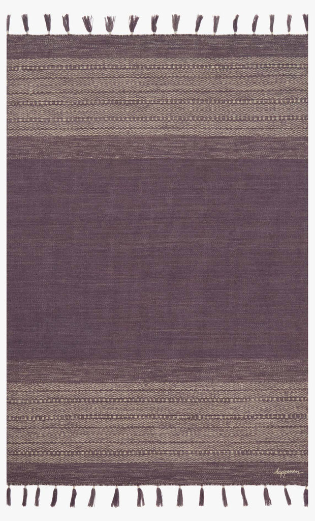 Solano Rug in Eggplant by ED Ellen DeGeneres Crafted by Loloi