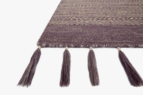 Solano Rug in Eggplant design by Ellen DeGeneres for Loloi