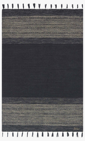 Solano Rug in Ink design by Ellen DeGeneres for Loloi