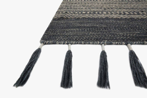 Solano Rug in Ink by ED Ellen DeGeneres Crafted by Loloi