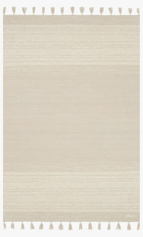Solano Rug in Ivory design by Ellen DeGeneres for Loloi