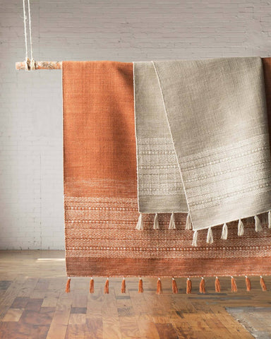 Solano Rug in Rust design by Ellen DeGeneres for Loloi