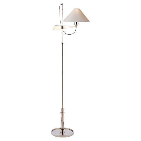 Hargett Bridge Arm Floor Lamp by J. Randall Powers