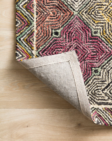 Spectrum Rug in Charcoal / Multi by Loloi II