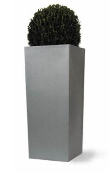 Geo Square Planters in Aluminum Finish design by Capital Garden Products