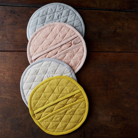 Linen Kitchen Mitt in Various Colors