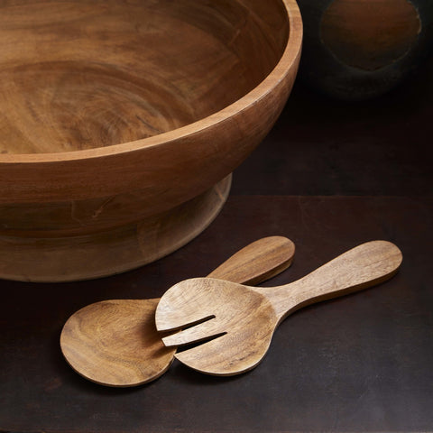 Acacia Wood Salad Paddles