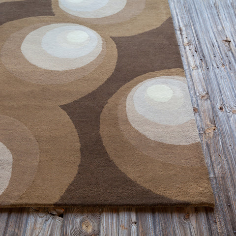 Stella Collection Hand-Tufted Area Rug in Brown, Grey, & Ivory design by Chandra rugs
