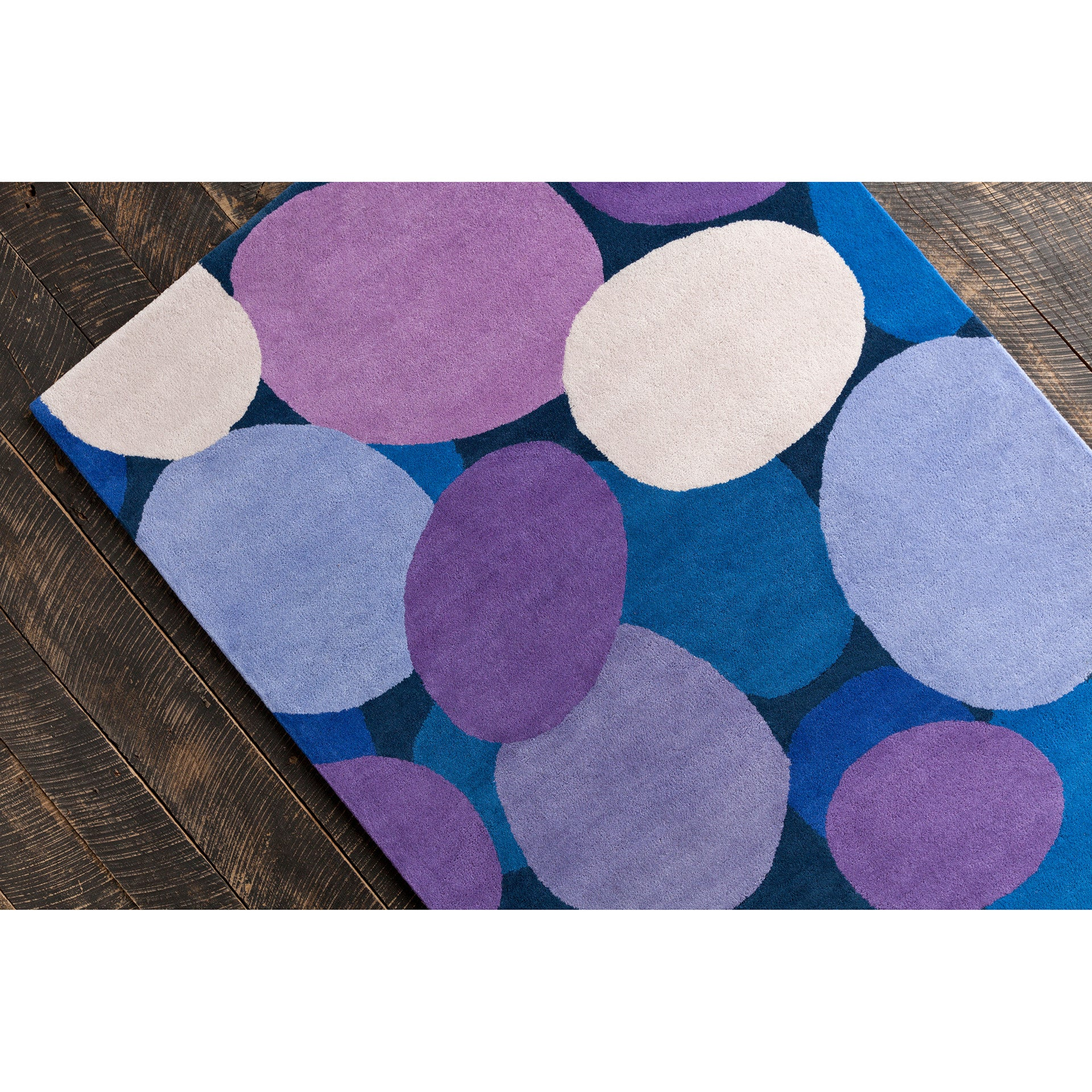 stella collection handtufted area rug in pink u0026 purple design by chandra rugs