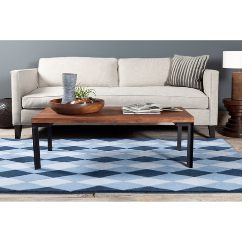 Stella Collection Hand-Tufted Area Rug in Blue design by Chandra rugs