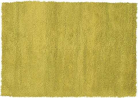 Strata Hand-knotted New Zealand Wool Area Rug in Lime design by Chandra rugs