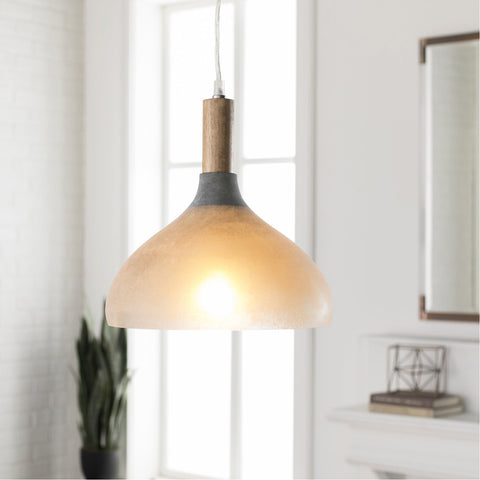 Storey STY-001 Pendant in Light Gray by Surya
