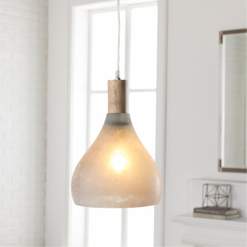 Storey STY-002 Pendant in Light Gray by Surya