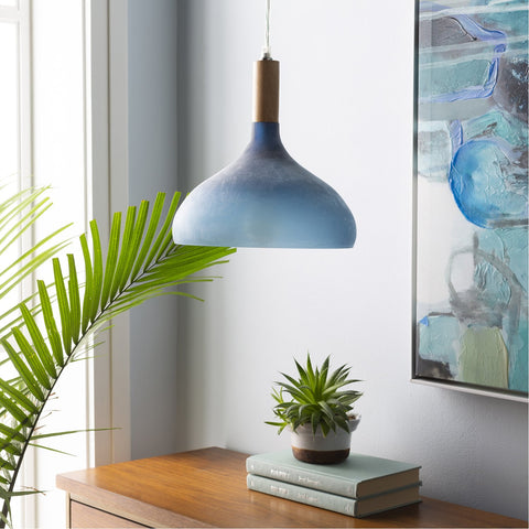 Storey STY-004 Pendant in Denim by Surya