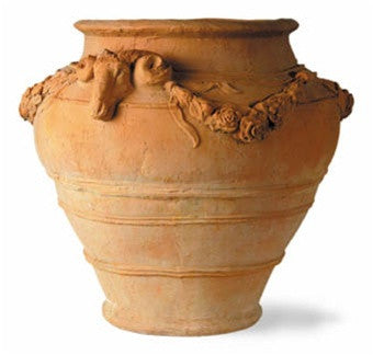 Sussex Urn Planter in Terra Finish design by Capital Garden Products