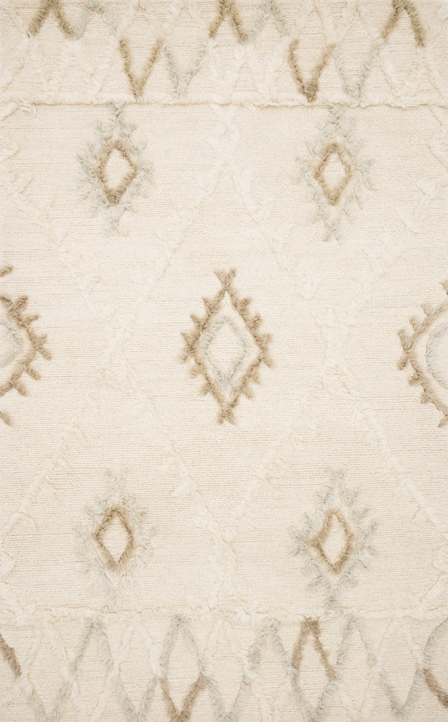 Symbology Rug in Ivory & Slate by Justina Blakeney for Loloi