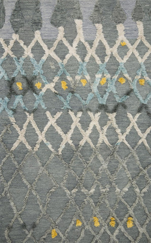 Symbology Rug in Grey & Multi by Justina Blakeney for Loloi
