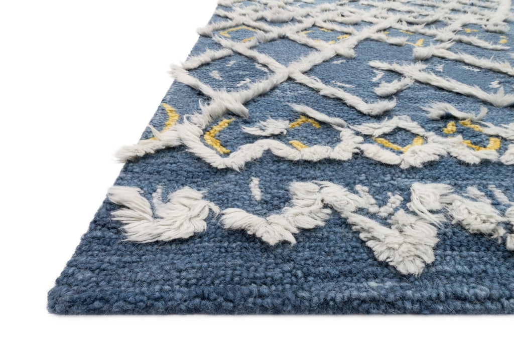 Symbology Rug in Denim & Dove by Justina Blakeney for Loloi