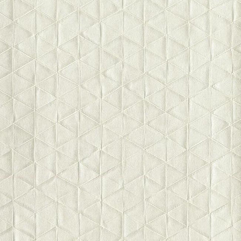 Sacred Geometry Wallpaper in Cream from the Moderne Collection by Stacy Garcia for York Wallcoverings