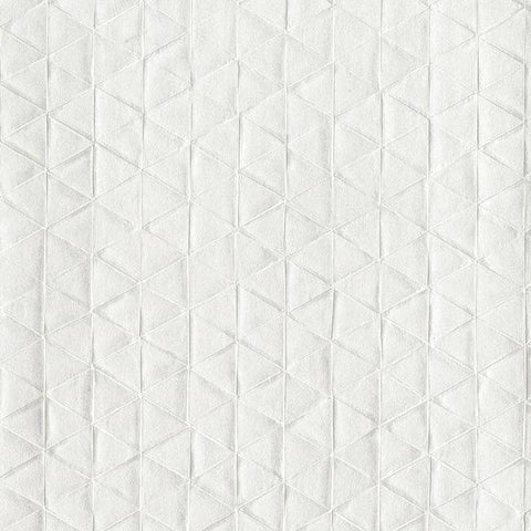Sacred Geometry Wallpaper in White from the Moderne Collection by Stacy Garcia for York Wallcoverings