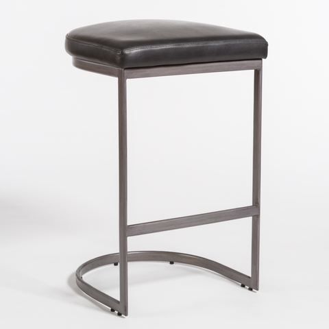 San Rafael Bar Stool in Aged Obsidian